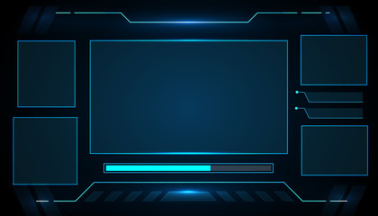 Futuristic interface technology design .