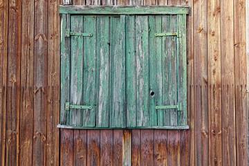 Holzfenster alt ohne Text