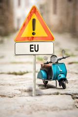 Schild 314 - EU