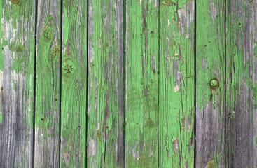 Old grunge wooden fence pattern.