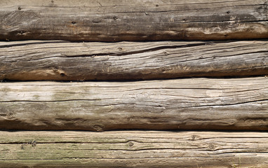 Old grunge wooden fence pattern.