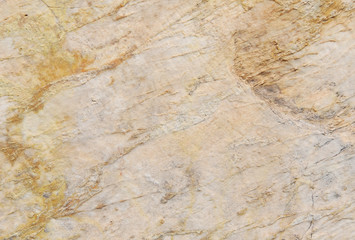 Ancient roman white and yellow marble slab as background