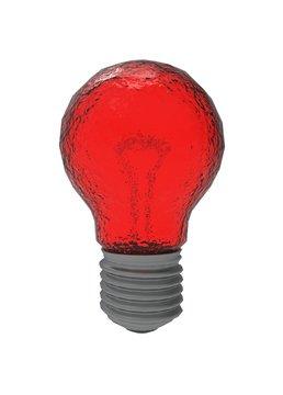 3d illustration of lamp bulb