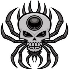Skull Spider