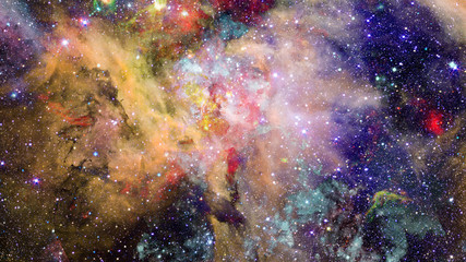 Bright massive stars in the nebula. Elements of this image furnished by NASA.