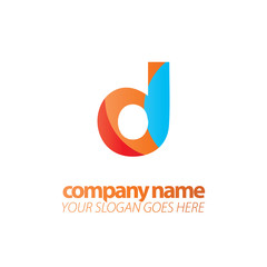 Initial Letter D Design Logo