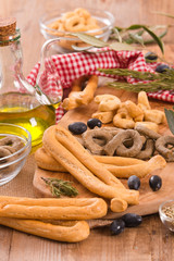 Italian taralli.