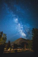 Milky Way Above Della Mountain (Idaho)