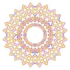 Gold Mandala. Vintage decorative elements. Hand drawn background. vector illustration.