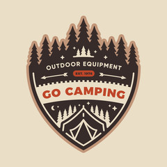 Camp badge