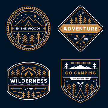 Camp Badges