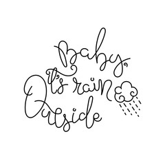 Typography, hand lettering Quote