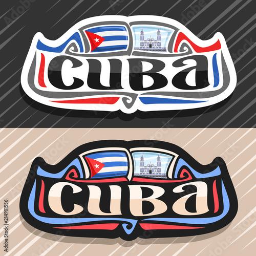 693525c5dc9 Vector logo for Cuba country