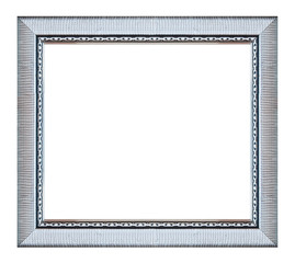 Silver square frame