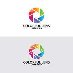 colorful lens logo