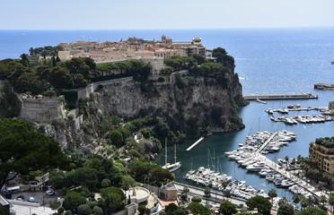 Monaco / le Rocher /
