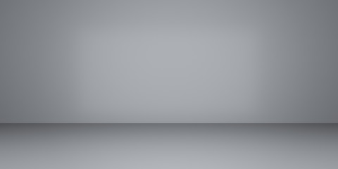 Abstract of empty room space ,Perspective of minimal design architecture.3d render