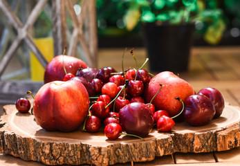 Fruit, red, food, summer
