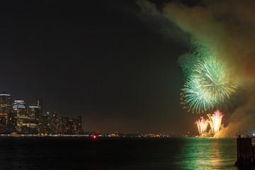 celebration firework in New York