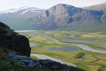 The Beauty of Northern Sweden - Rapaätno delta