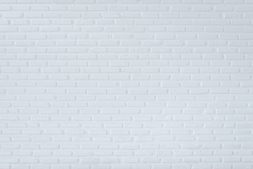 Pattern of white brick wall for background and textured, White block wall background