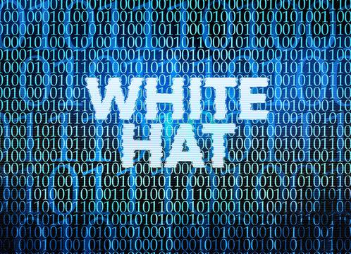 White Hat SEO word cloud concept
