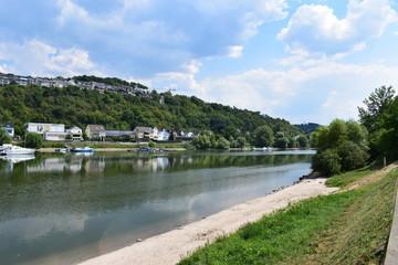 Rhein ufer bei Niederwerth / Vallendar