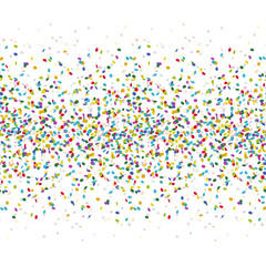 seamless colored confetti background