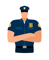 Policeman avatar icon