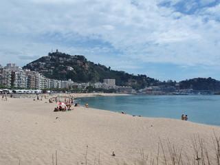 beach in blanes