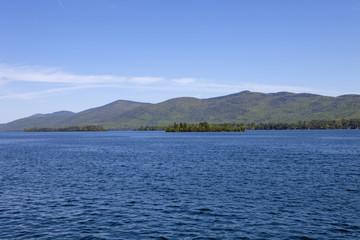 Mountains surrounding the Lake