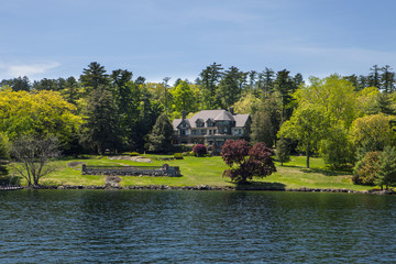 Mansion by the Lake In New York