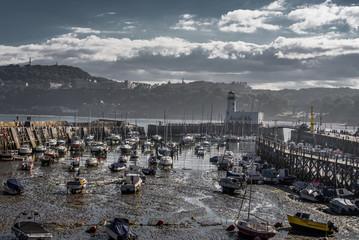 Scarborough shallow harbour