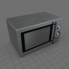 Classic microwave oven