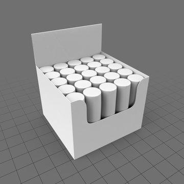 Box of lip balms