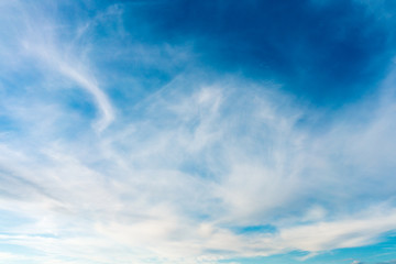 Beautiful cloudy sky texture