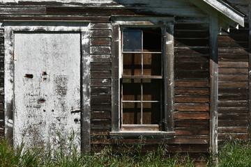 Old Wooden Door and Windows