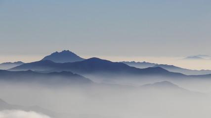 덕유산의 겨울 풍경
