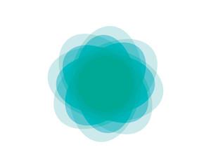 Circle banner icon Template vector