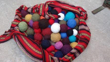 Yarn ball basket