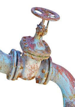 Old industrial valve