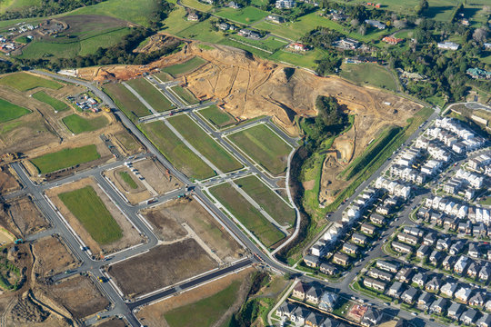 New Residential development in countryside south of Auckland