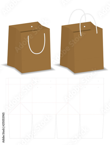 Paper Bag 3d Model Free