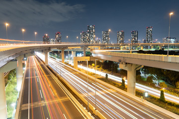 湾岸高速道路の風景