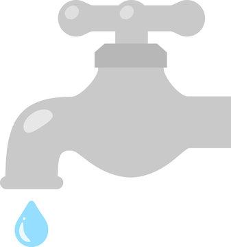 水道の蛇口と水滴