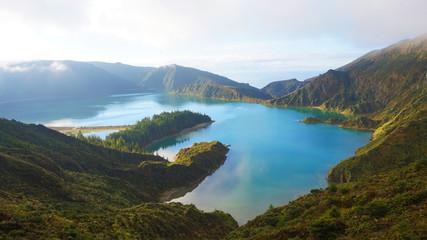 Lagoa do Fogo auf der Insel Sao Miguel, Azoren