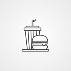 Meal vector icon