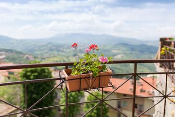 Obraz San Marino, Riwiera Adriatycka, Włochy - fototapety do salonu