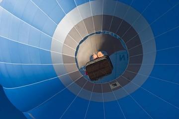 Hot air balloon, Montgolfiade Bad Wiessee, Tegernsee, Bavaria, Germany, Europe