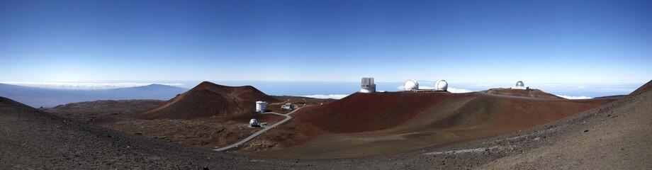Mauna Kea Observatory, Mauna Kea, shield volcano, Big Island, Hawaii, USA, North America